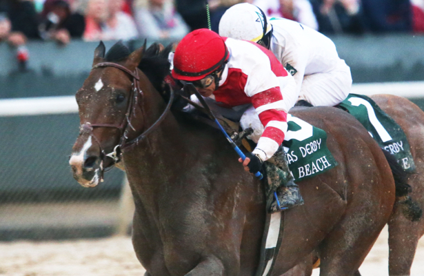 Mike Smith montará a Omaha Beach en Kentucky